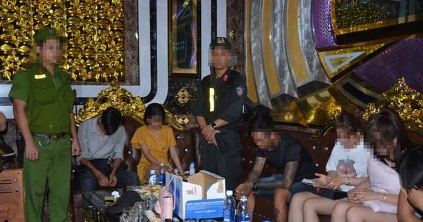 Quảng Nam: 32 người dương tính với ma túy trong quán karaoke