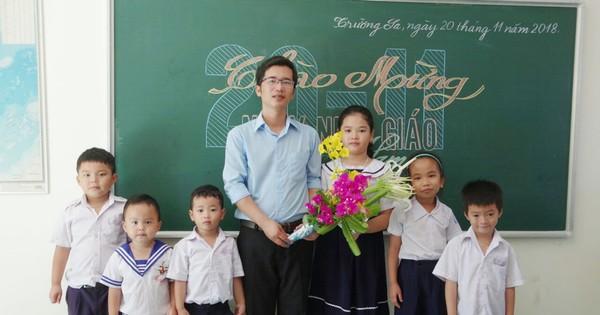 Người viết tâm thư dạy học ở Trường Sa