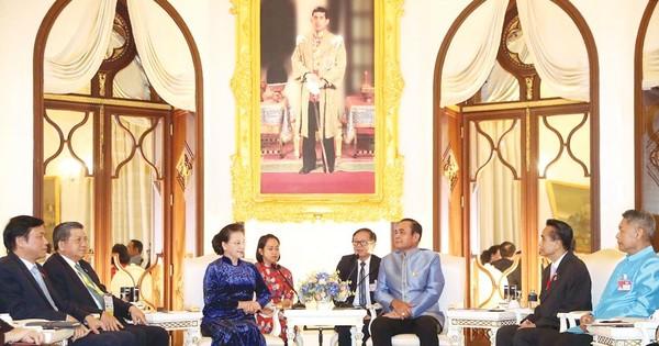 Chủ tịch Quốc hội Nguyễn Thị Kim Ngân thăm chính thức Vương quốc Thái Lan
