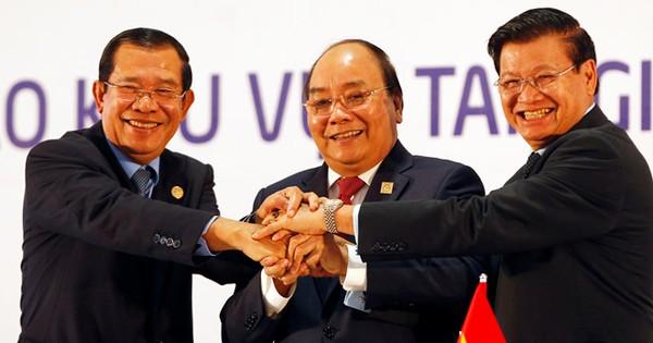 Hợp tác thương mại với Lào, Campuchia tăng 15%