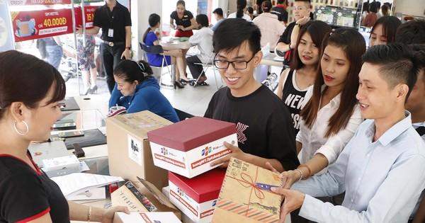 FPT Shop thu về 10 tỷ đồng chỉ sau 48 giờ từ trang hangmy.fptshop.com.vn