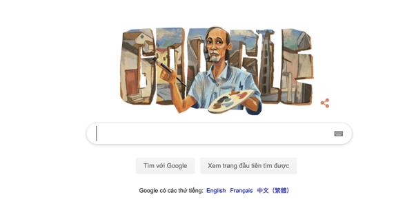 Google Doodle vinh danh danh họa Bùi Xuân Phái