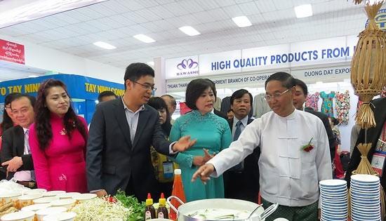 Hcmc Expo 2017 Opens In Myanmar Talk Vietnam