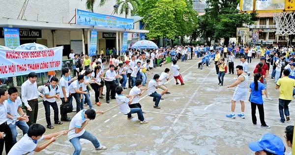 Hội thao công nhân viên chức – lao động Saigontourist lần VI – năm 2017