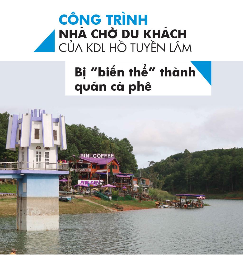 Di tích thắng cảnh quốc gia hồ Tuyền Lâm bị xâm hại như thế nào? ảnh 3