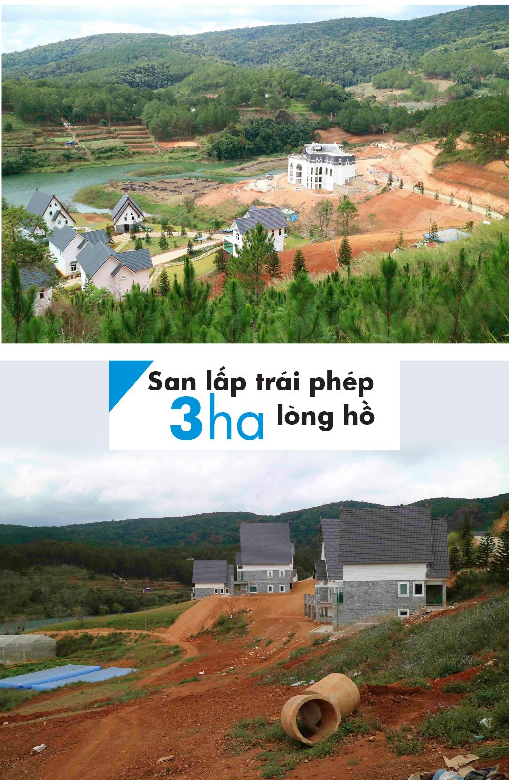 Di tích thắng cảnh quốc gia hồ Tuyền Lâm bị xâm hại như thế nào? ảnh 10