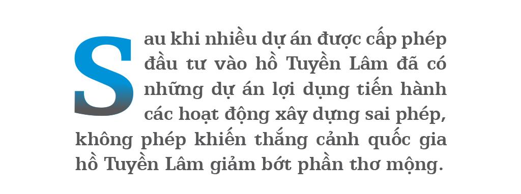 Di tích thắng cảnh quốc gia hồ Tuyền Lâm bị xâm hại như thế nào? ảnh 1