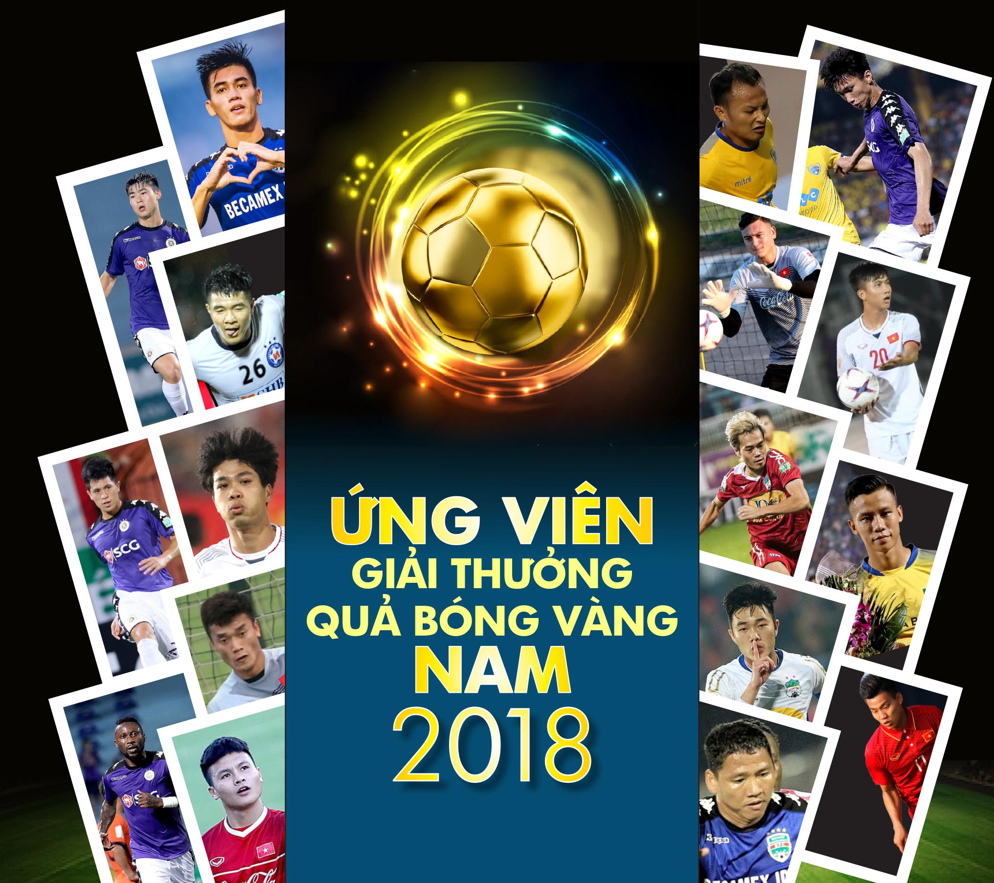 Danh sách ứng viên Giải thưởng Quả bóng vàng nam 2018