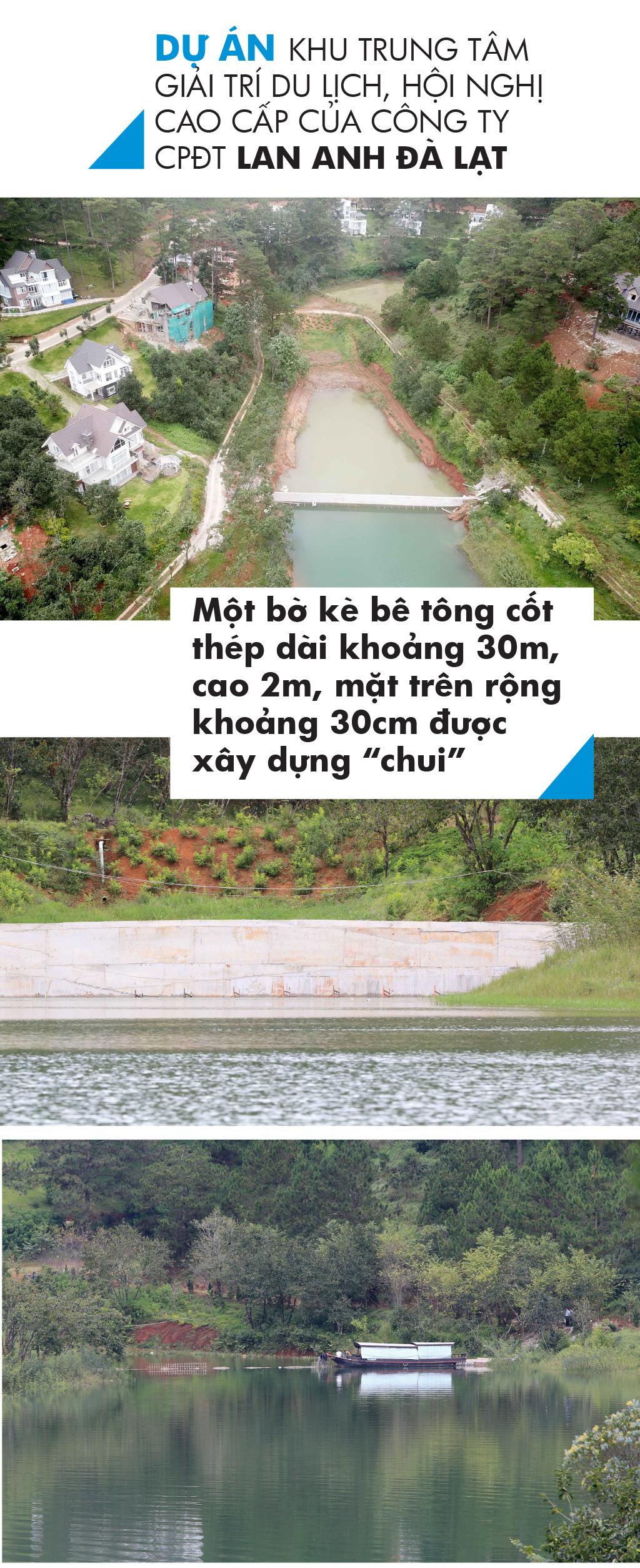 Di tích thắng cảnh quốc gia hồ Tuyền Lâm bị xâm hại như thế nào? ảnh 4