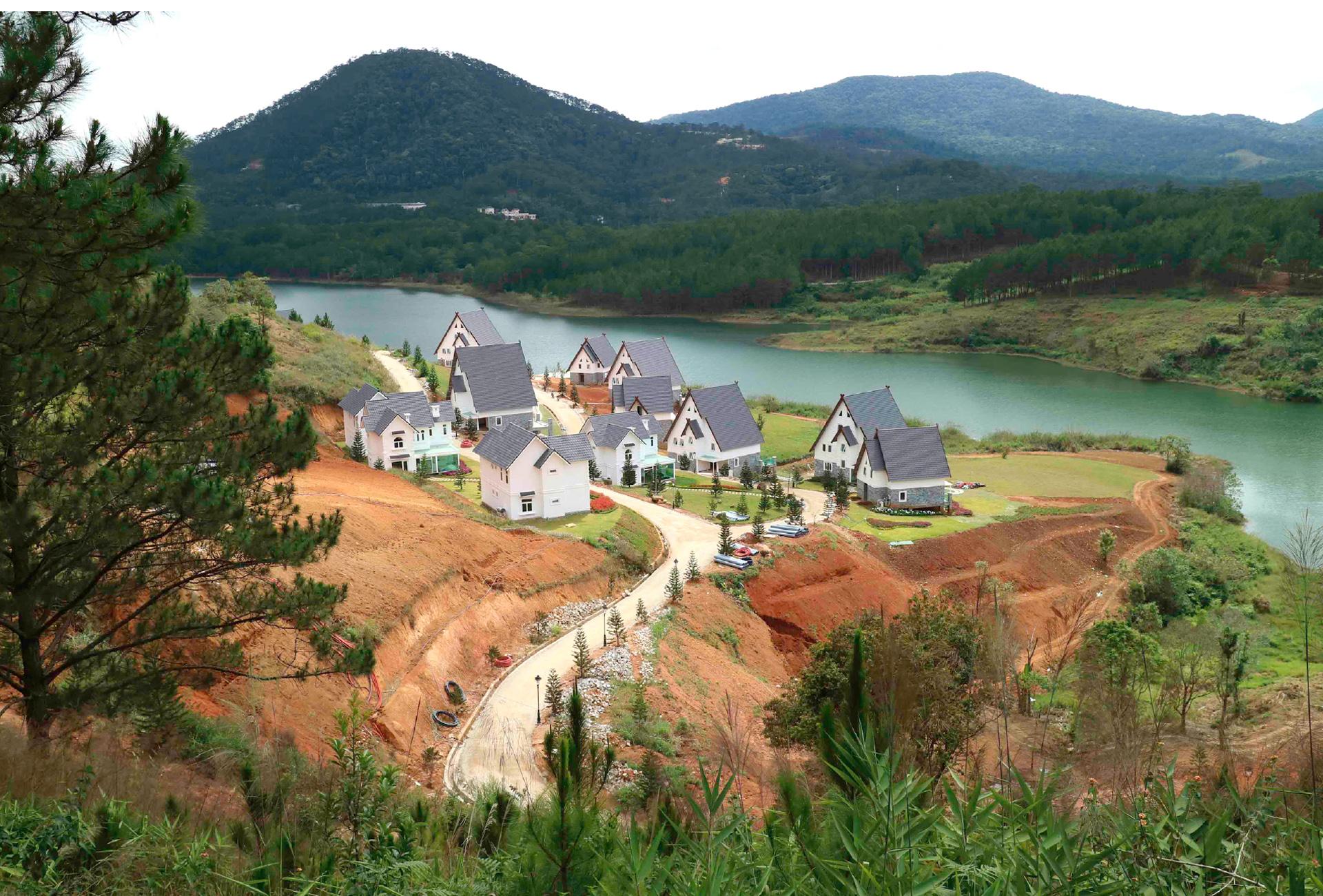 Di tích thắng cảnh quốc gia hồ Tuyền Lâm bị xâm hại như thế nào? ảnh 9
