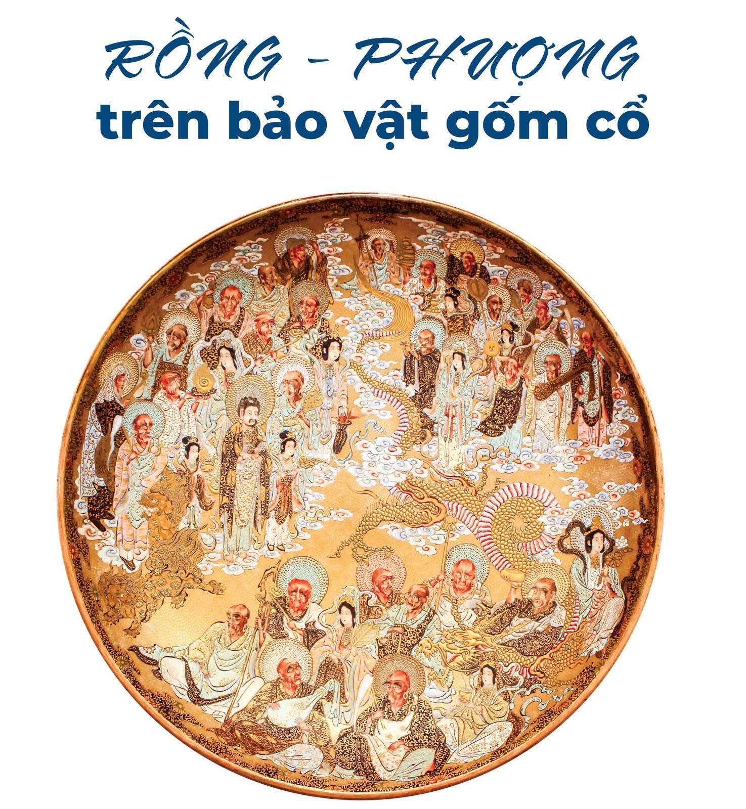 Rồng - Phượng trên bảo vật gốm cổ