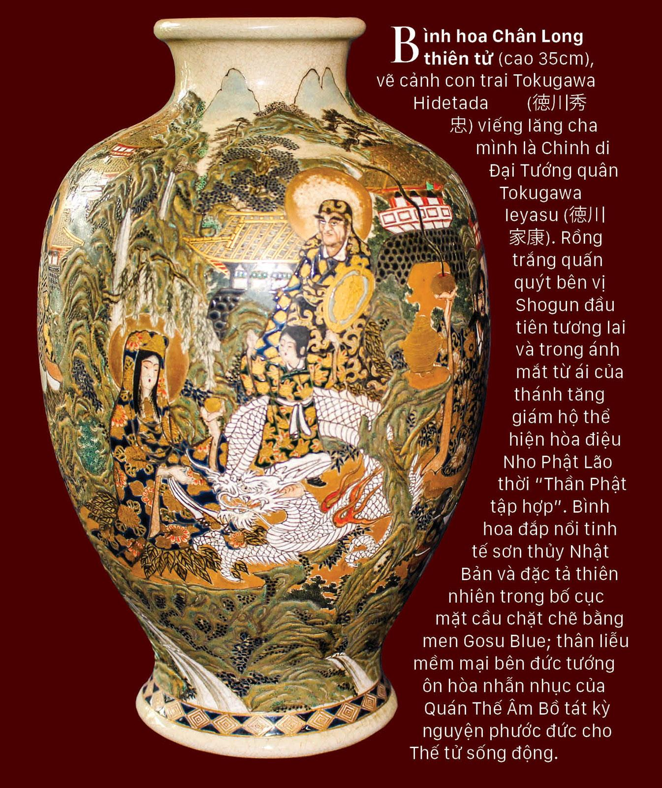 Rồng - Phượng trên bảo vật gốm cổ ảnh 4