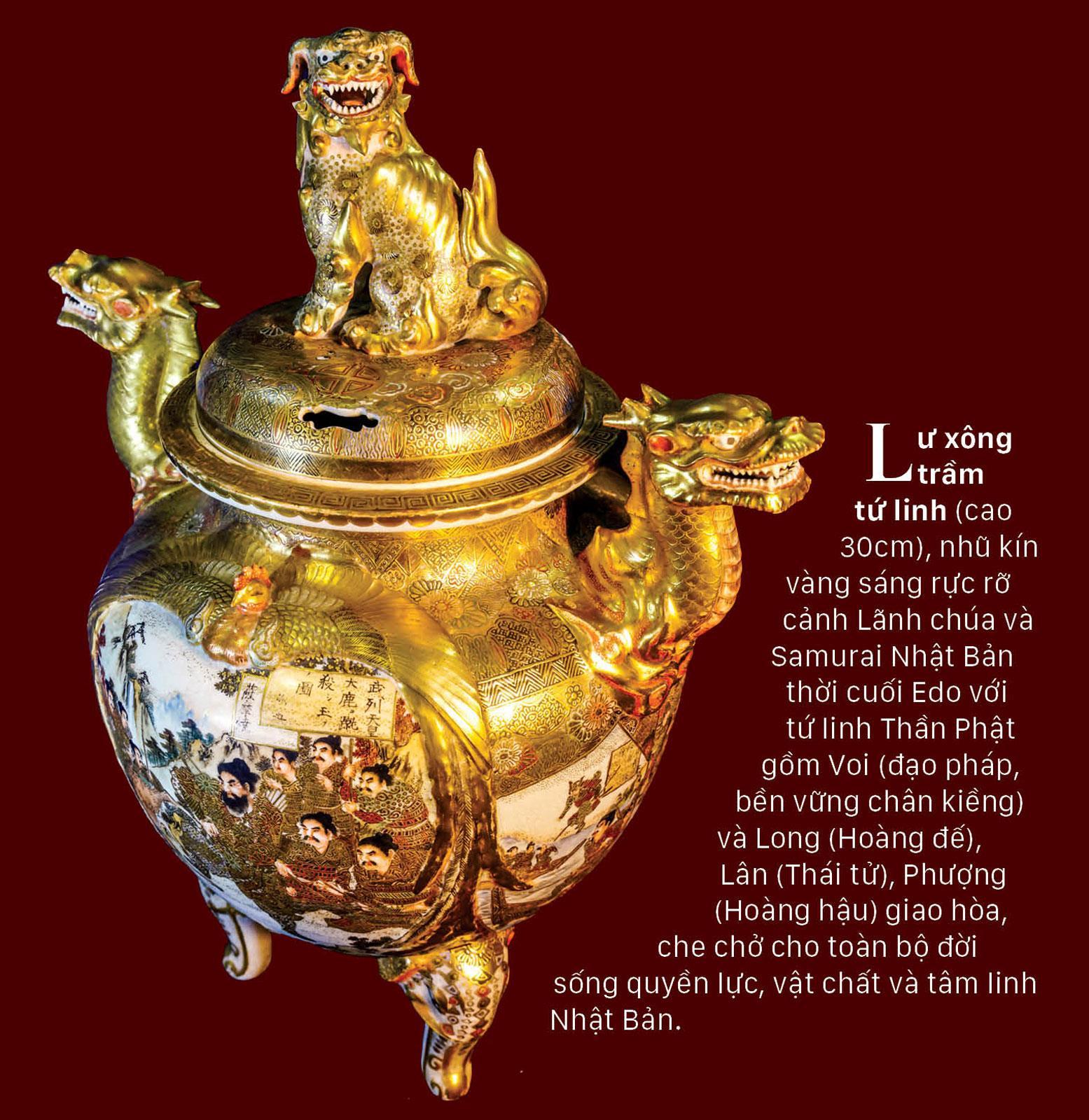 Rồng - Phượng trên bảo vật gốm cổ ảnh 6
