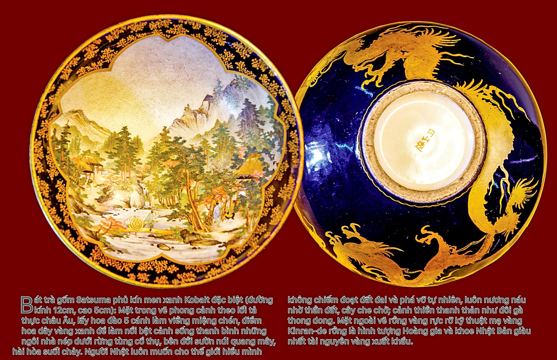 Biểu tượng vương quyền trên những bát trà   ảnh 3