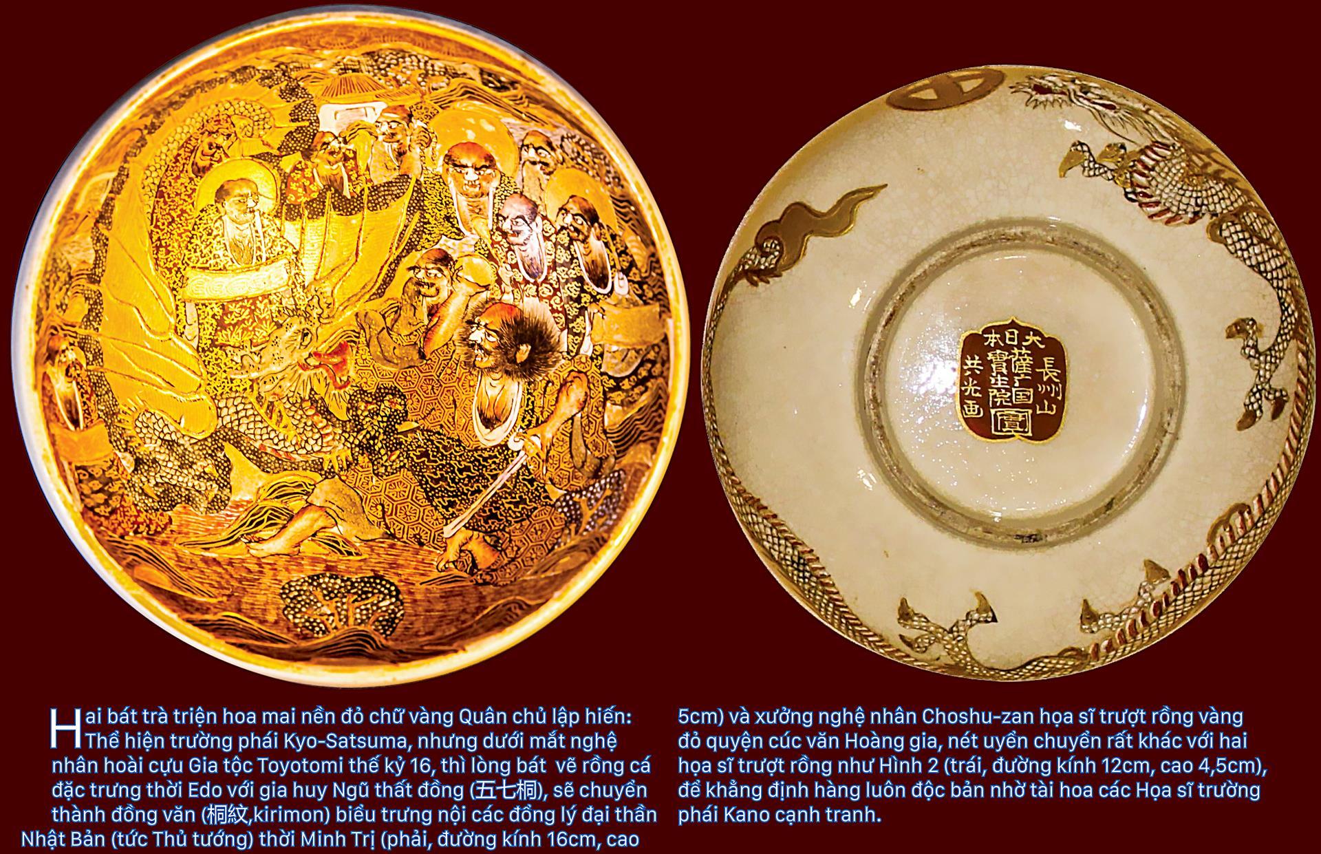 Biểu tượng vương quyền trên những bát trà   ảnh 5