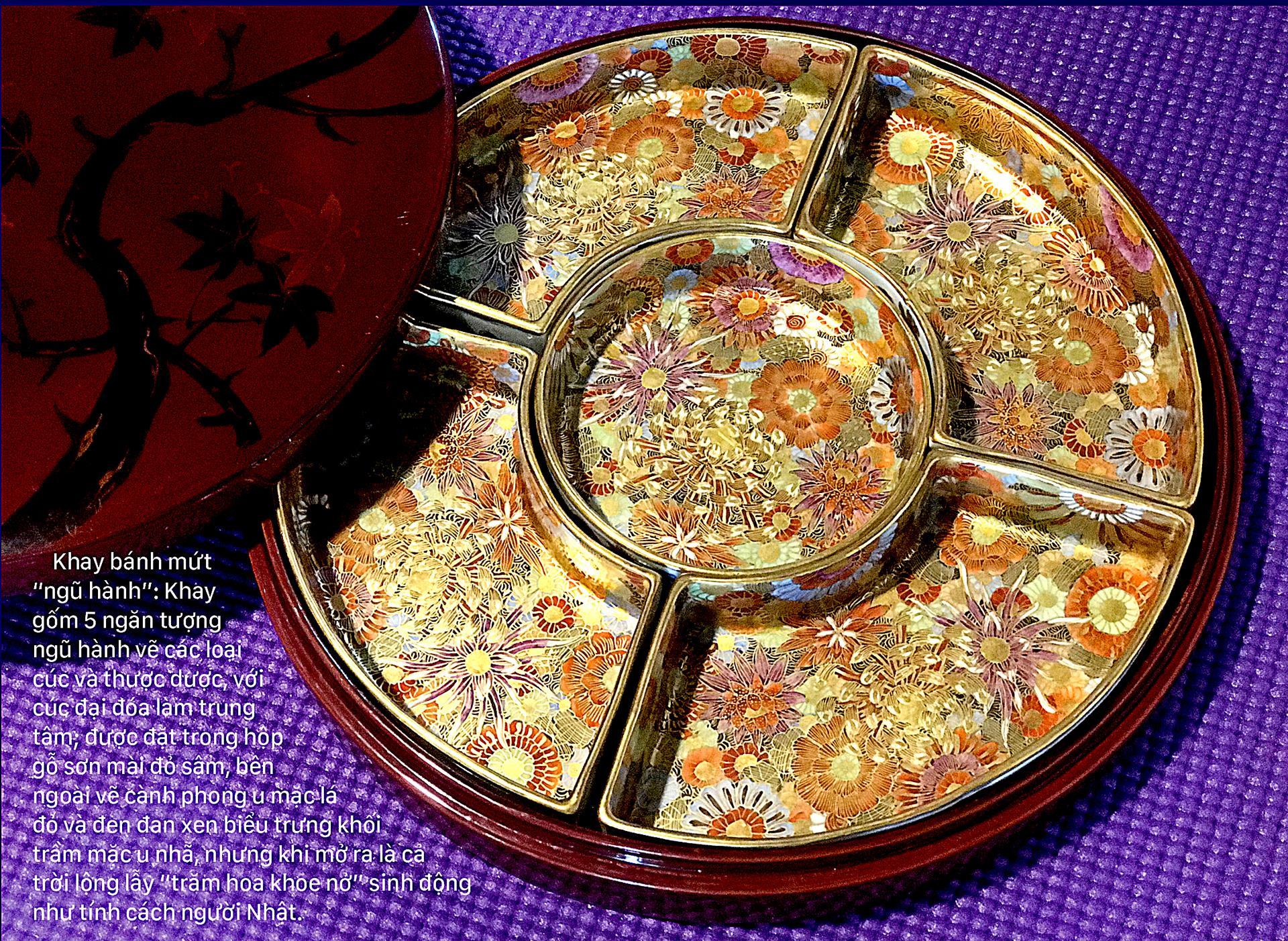 Nghệ thuật thị giác người Nhật qua gốm Bách hoa ảnh 1