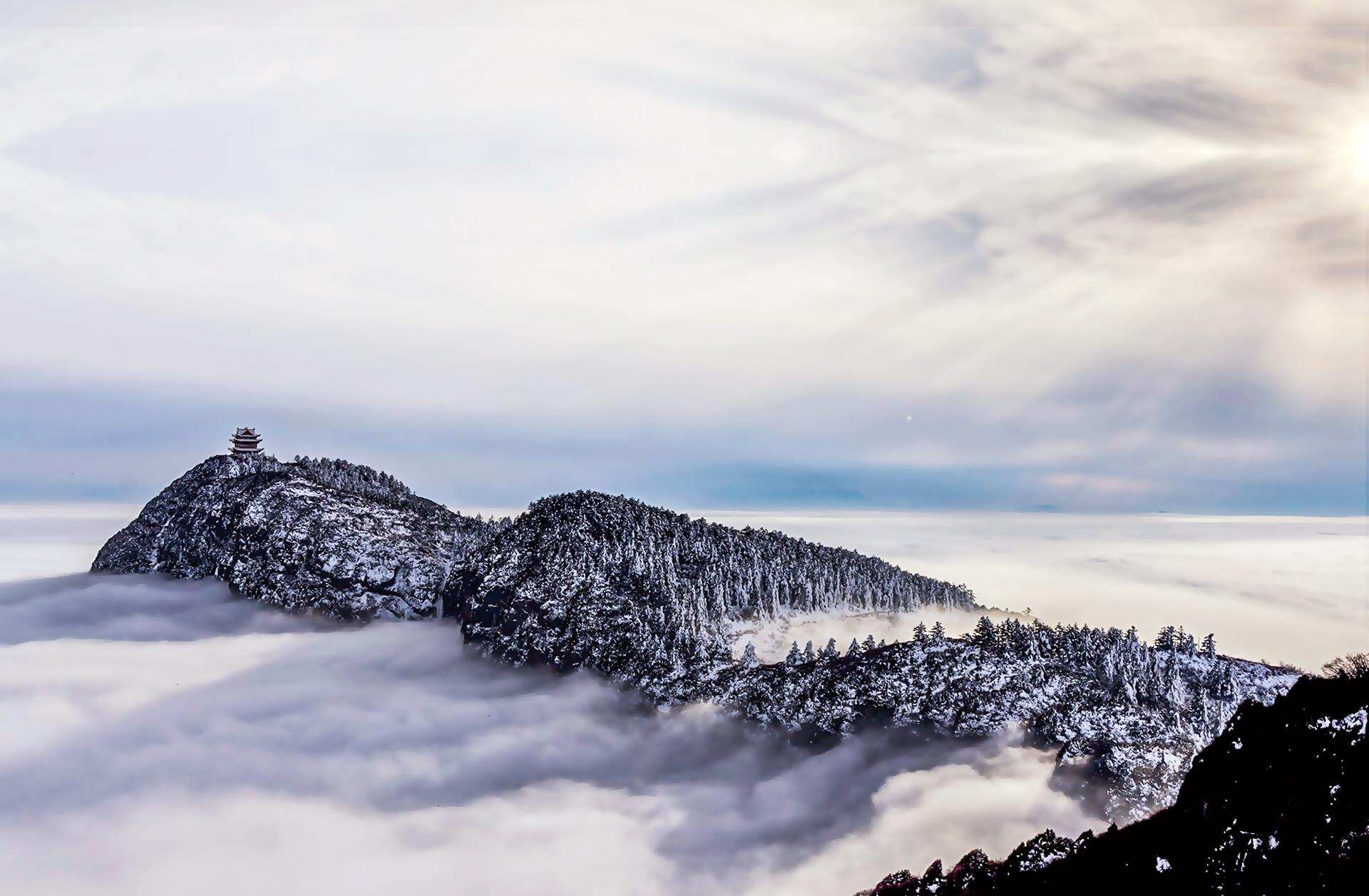 Núi thiêng Nga Mi   ảnh 4