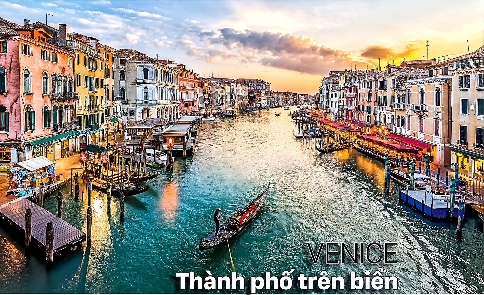 Venice Thành phố trên biển