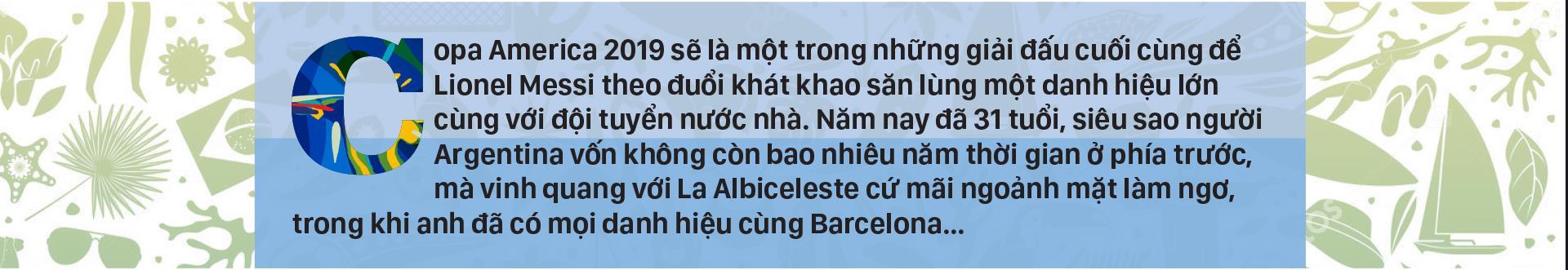 Bảng B: ARGENTINA - Nỗi khao khát của Messi ảnh 1