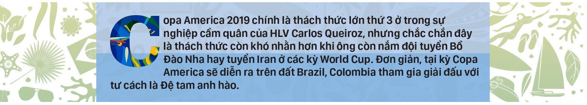 Bảng B: COLOMBIA Thách thức với Queiroz ảnh 1