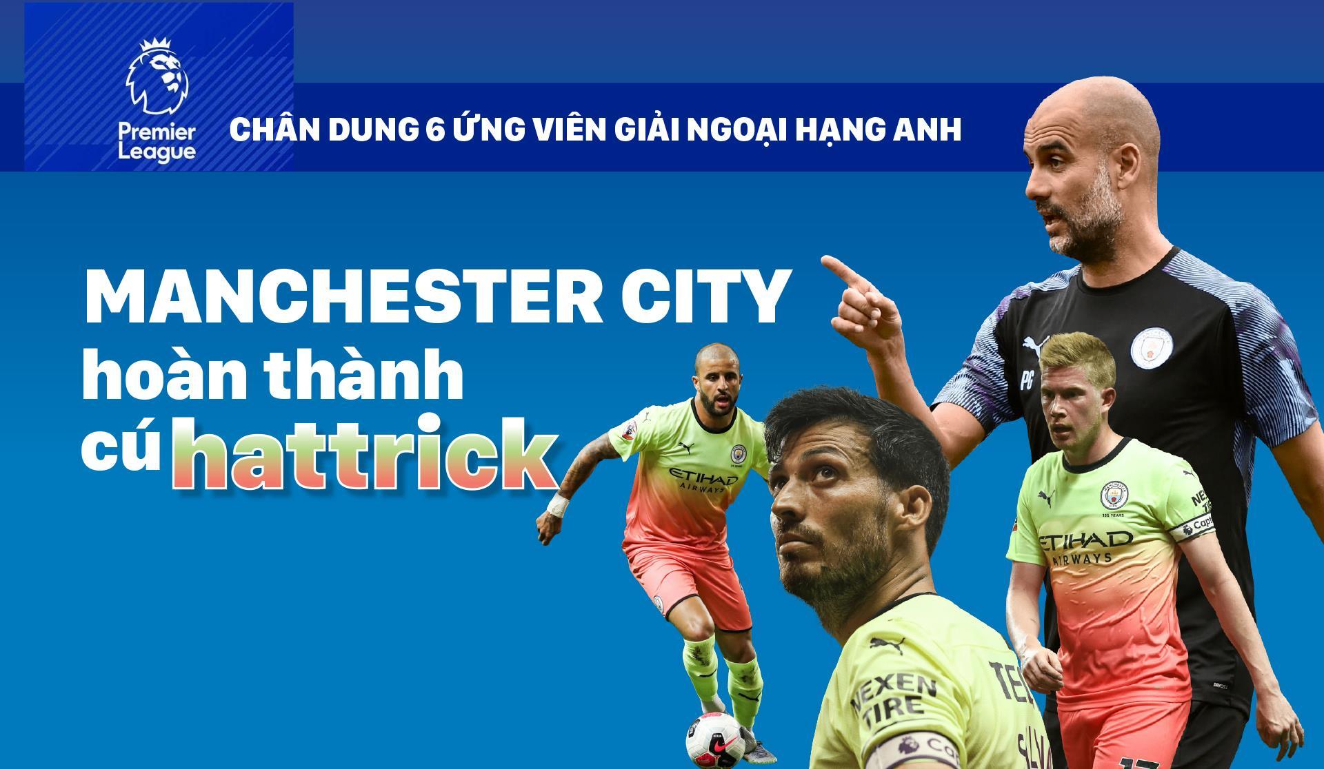 MANCHESTER CITY - hoàn thành cú hattrick
