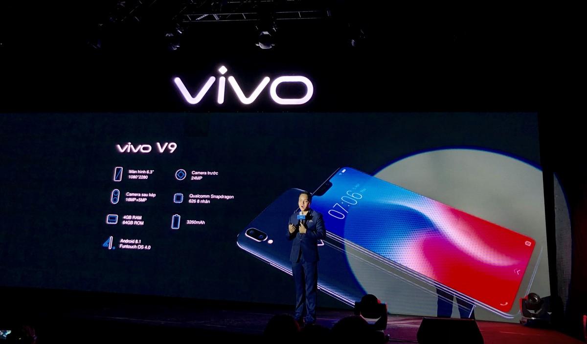 Vivo V9 được bán với giá 7 990 000 đồng  | Sản phẩm công nghệ | Báo