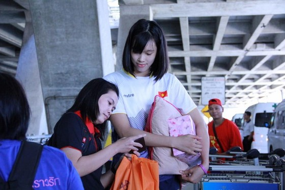 Bóng chuyền nữ Việt Nam: Tự tin trước giờ khai cuộc! ảnh 1