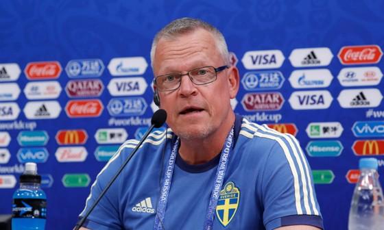 HLV trưởng tuyển Thụy Điển Janne Andersson. Ảnh: The Guardian
