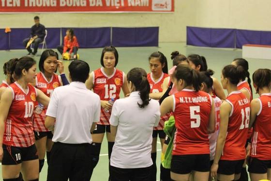 Thầy trò đội nữ Kinh Bắc đã giành vé thăng hạng ở mùa giải 2019.