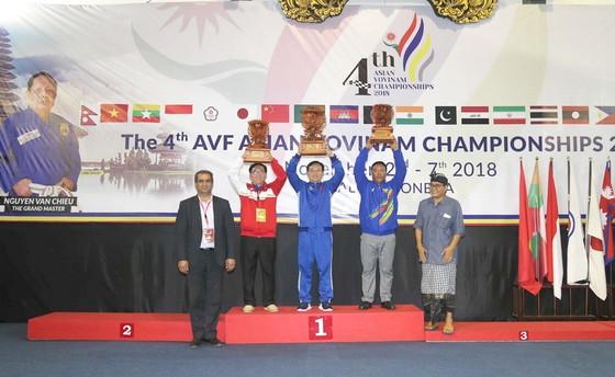 Giải vô địch Vovinam châu Á 2018: Võ Việt lan toả mạnh ở châu lục ảnh 2