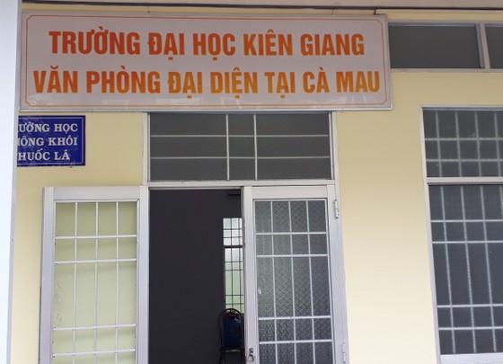 """Trường Đại học Kiên Giang liên kết đào tạo """"chui"""" ảnh 1"""