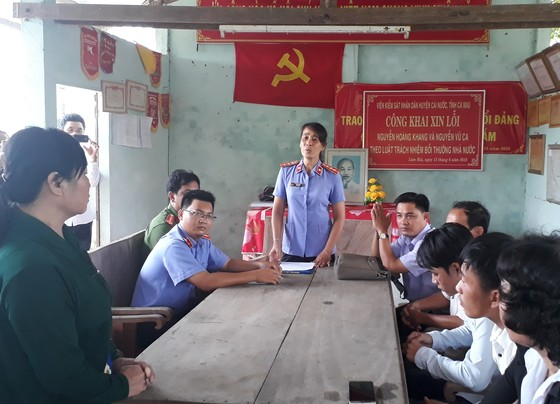 Viện Kiểm sát huyện Cái Nước xin lỗi công khai công dân vì gây oan sai ảnh 1