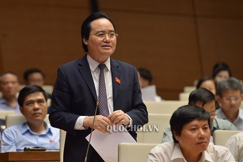 GAY CẤN: Tranh luận về trách nhiệm của Bộ trưởng trong dự thảo đuổi học HS-SV bán dâm ảnh 2