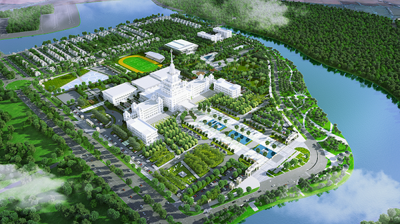 Xem phối cảnh Đại học VinUni rộng 23ha, 10 tầng với tháp cao 108m ảnh 1
