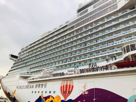 Tàu biển cao cấp World Dream cập cảng Tân Cảng – Cái Mép ảnh 2