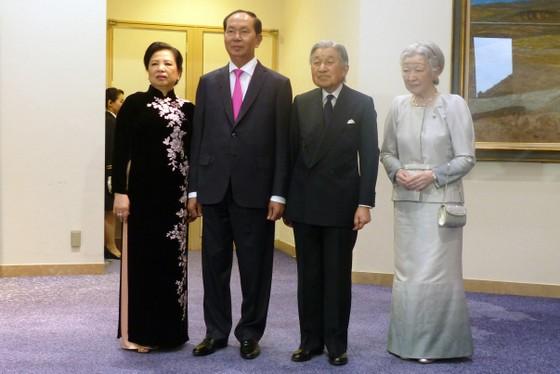 Nhà vua Nhật Bản và Hoàng hậu tham dự tiệc chiêu đãi của Việt Nam ảnh 3