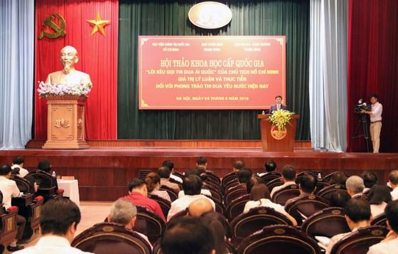 Lời kêu gọi thi đua ái quốc là nét đặc sắc của tư tưởng Hồ Chí Minh ảnh 2