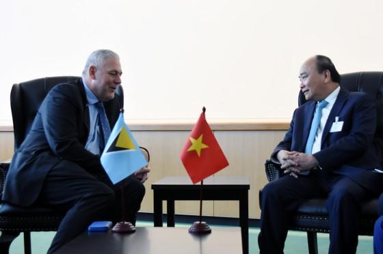 Thủ tướng Nguyễn Xuân Phúc gặp gỡ Chủ tịch Đại hội đồng và Tổng Thư ký Liên hiệp quốc ảnh 4