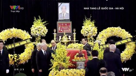 Tổ chức trọng thể Lễ truy điệu nguyên Tổng Bí thư Đỗ Mười ảnh 8