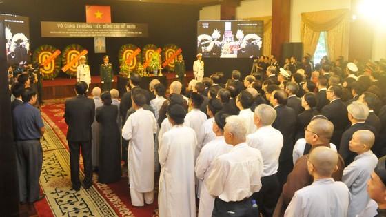 Tổ chức trọng thể Lễ truy điệu nguyên Tổng Bí thư Đỗ Mười ảnh 13