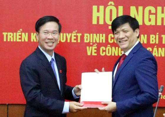 Thứ trưởng Bộ Y tế Nguyễn Thanh Long giữ chức Phó Trưởng Ban Tuyên giáo Trung ương ảnh 1