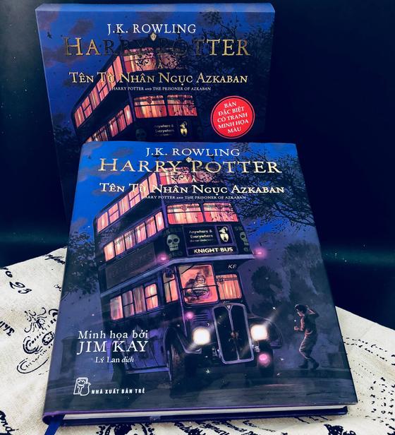 Ấn bản đặc biệt của Harry Potter đến Việt Nam ảnh 1