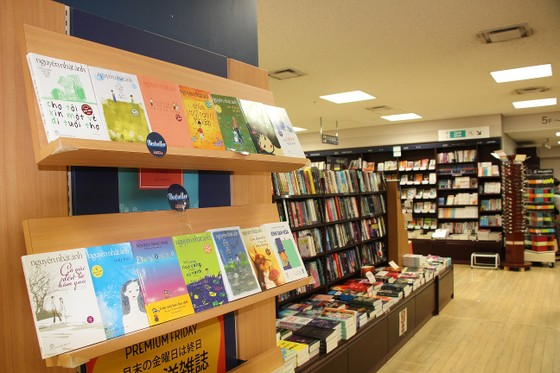 Lần đầu tiên có gian hàng sách Việt Nam tại Nhật Bản ảnh 1