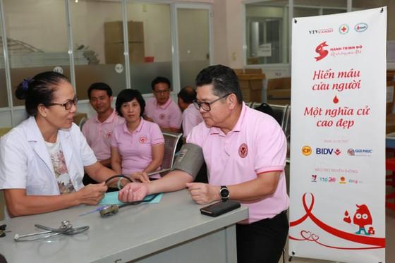 """Tiếp nhận gần 1.500 đơn vị máu tại ngày hội """"Giọt hồng thành phố mang tên Bác"""" ảnh 1"""