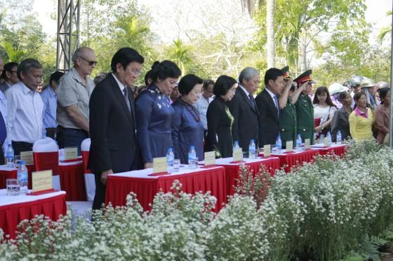 Lễ tưởng niệm 50 năm ngày 504 thường dân Sơn Mỹ bị thảm sát ảnh 1