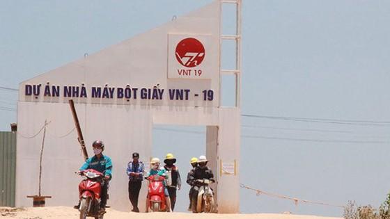 Vụ Nhà máy Bột giấy VNT19 (Quảng Ngãi) thi công bồi lấp kênh mương: Yêu cầu công ty chịu trách nhiệm ảnh 1
