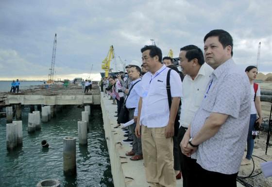 Khởi công công trình khai quật tàu cổ Dung Quất tại Quảng Ngãi ảnh 7