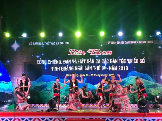 Liên hoan văn hóa cồng chiêng và đàn hát dân ca các dân tộc thiểu số Quảng Ngãi  ảnh 1