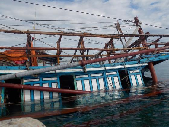 Tàu cá thứ 4 của Quảng Ngãi bị chìm ở quần đảo Hoàng Sa ảnh 1