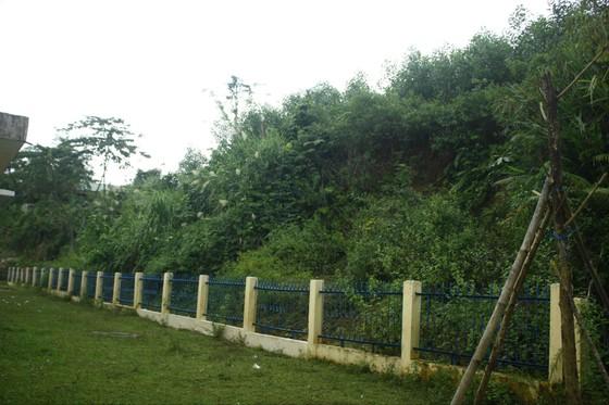 Quảng Ngãi: Nứt núi dài 100m, rộng 150m đe dọa trường học và nhà ở tại Ba Giang ảnh 4